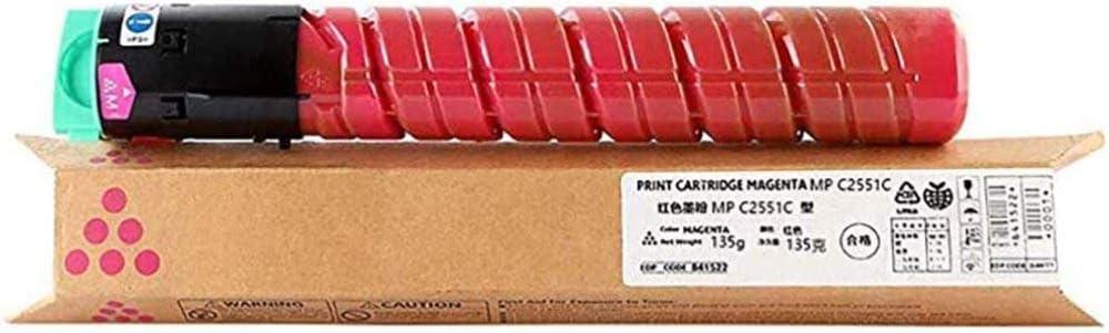 YANGYA Recyclable C831DN Toner Cartridge, Compatible with Ricoh Aficio SPC830DN SPC831DN Copier Cartridge, Large Capacity 4 Color Consumables,M