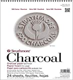 Strathmore 561-2 12 X 18 ASST Tint 500 Series Charcoal, 12'x18', 24 Sheets