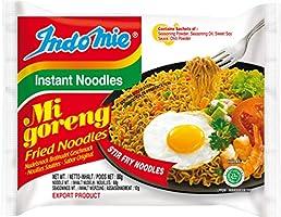 Indomie Mi Goreng Fried Instant Noodles, 80 g (Pack of 40)