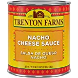 Trenton Farms Nacho Cheese Sauce is a spicy sauce made with 100% real cheese, yellow jalapeno and green chili pieces Unlike canned competitors, Trenton Farms products are Cooked Before Canning under pressure to prevent scorching and boiling, preventi...