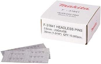 Makita F-31841 hoofdloze pin nagel 23G/0.6 P30, meerkleurig