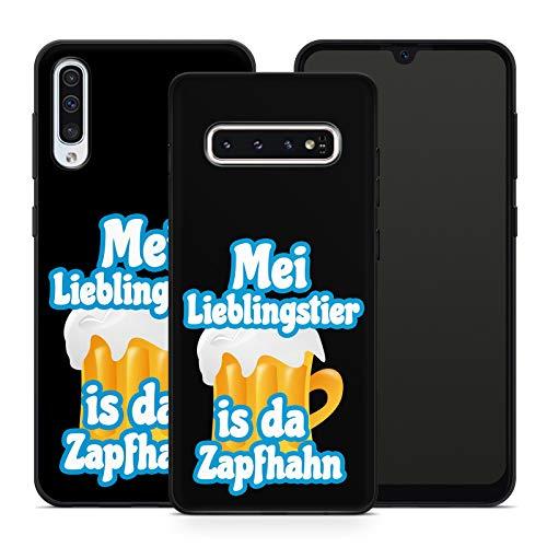 Handyhülle Bayrische Sprüche für Samsung Silikon MMM Berlin Hülle Bayern Wiesn Bairisch Spruch Bier, Kompatibel mit Handy:Samsung Galaxy Note 8, Hüllendesign:Design 3   Silikon Schwarz