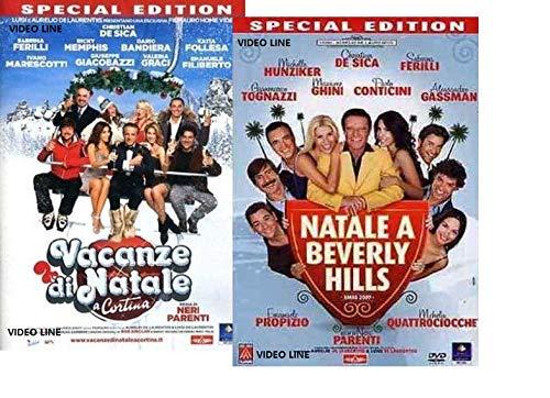 Dvd Vacanze di Natale a Cortina / Natale a Beverly Hills (2 Film DVD) Edizione Italiana