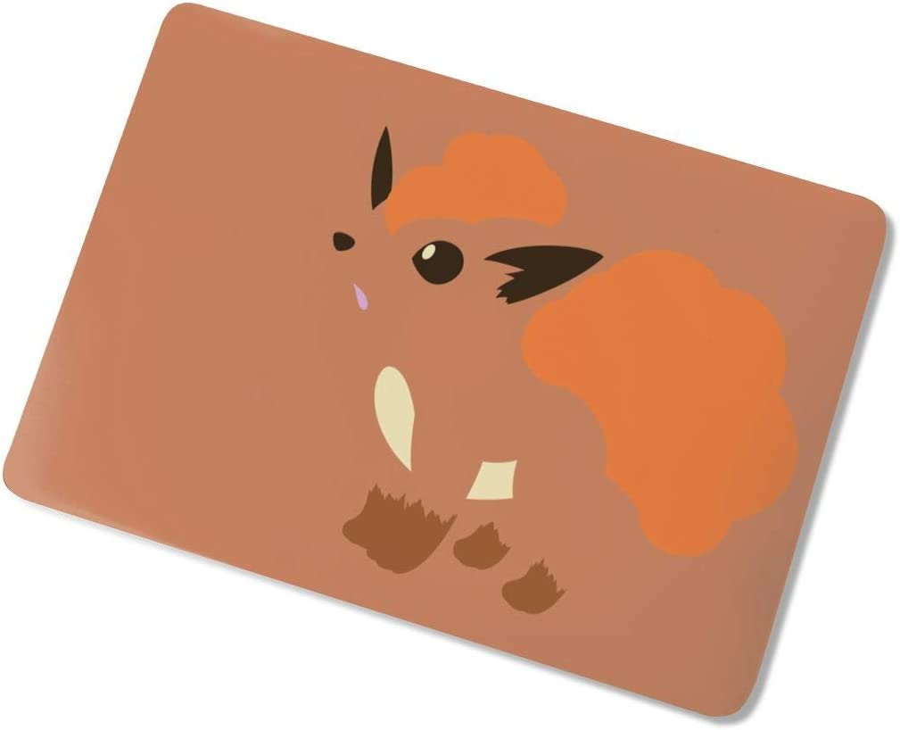 Hard Case Shell Cover Vulpix Popular Anime Animal Cute Wear-Resistant Fashion Computer Cover Protective Case Cover Waterproof Laptop Case for Air13