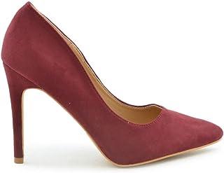 a892df5ba2a6 Amazon.es: zapatos burdeos mujer - 41 / Zapatos de tacón / Zapatos ...