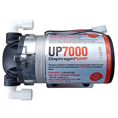ósmosis inversa Bomba up7000High Flow Booster Pump 75GPD 24V