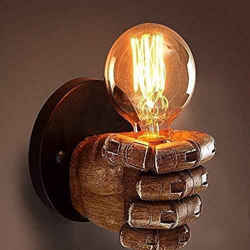 Lampade antiche industriali retrò lampada da parete a corda illuminazione retrò portalampada Edison E27 decorazione domestica bar ristorante caffetteria club (escluse lampadine 110-220 V