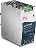 TRENDnet 240 W Single Output Industrial DIN-Rail Power Supply, Extreme -25 to 70 °C (-13 to 158 °F) Operating Temp, TI-S24048 (Renewed)