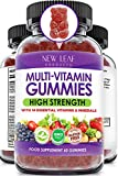 Multivitamin Gummies High Strength for Men Women - Vegetarian +14 Essential Vitamins & Minerals - Gluten Free, Non-GMO Multi Vitamins Chewable Adults Vitamin C A D E B12 B6 & Biotin, Zinc & Iodine