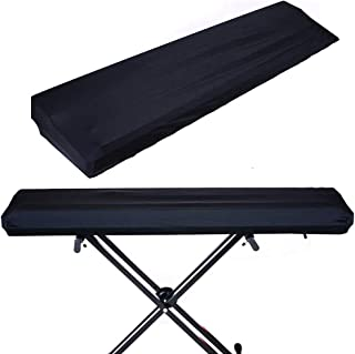 88 Keys Piano Keyboard Dust Cover, with Elastic Cord and Locking Clasp,Made of Spandex Elastic Fabric,Stretchable
