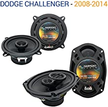Compatible with Dodge Challenger 2008-2014 OEM Speaker Upgrade Harmony R69 R5 Package New