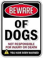 犬のサインブリキサインサイン