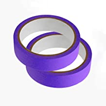 2 rollen Masking Tape, 20 m Lengte Geweven Papier Tape Beschrijfbare Schilders Tape Sticky Plakband voor Schilderen Ambach...