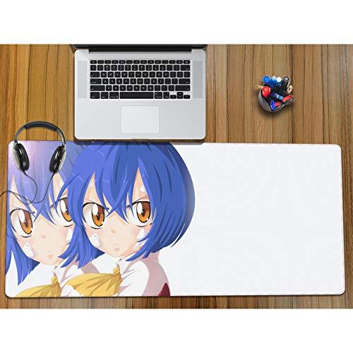 800X300X3MM Almohadilla de ratón de Anime Jugador Grande Suave Teclado de Juego Alfombrilla de Goma Antideslizante Alfombrilla para Escritorio de Ordenador Magister-2