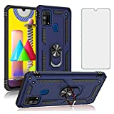 Phone Case for Samsung Galaxy M31/M30S/M21/ with Tempered