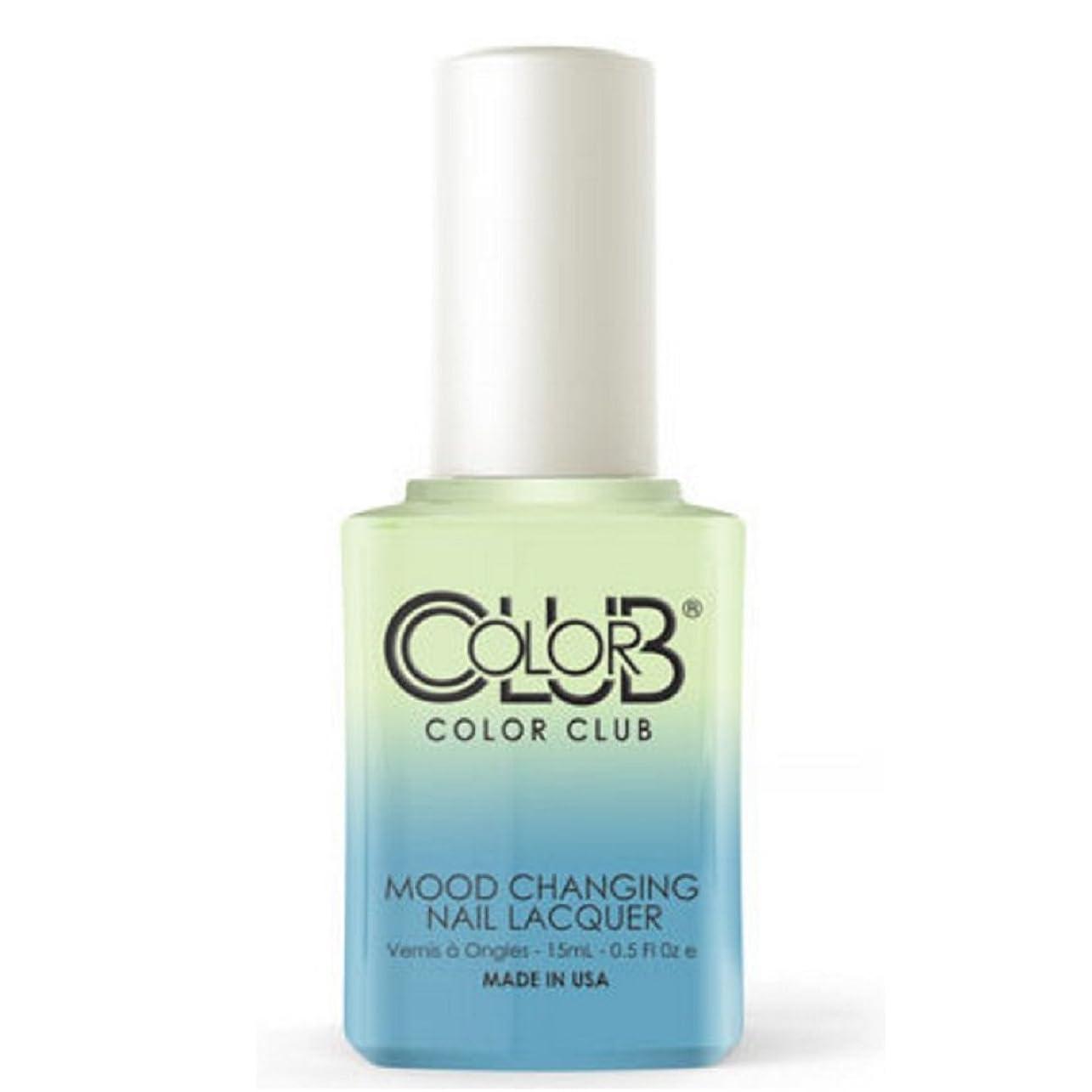 ジャンクション斧殉教者Color Club Mood Changing Nail Lacquer - Extra-vert - 15 mL / 0.5 fl oz
