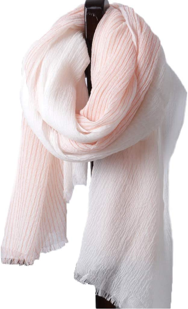 OMING Jacksonville Mall Sale Scarves Fashion 200 Ring Velvet Pure Scarf Au Wool Striped
