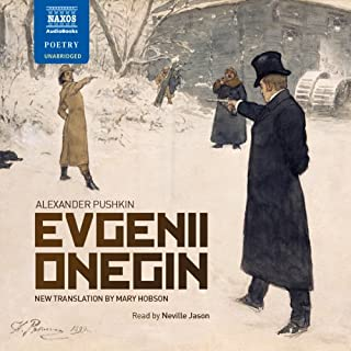 Evgenii Onegin audiobook cover art