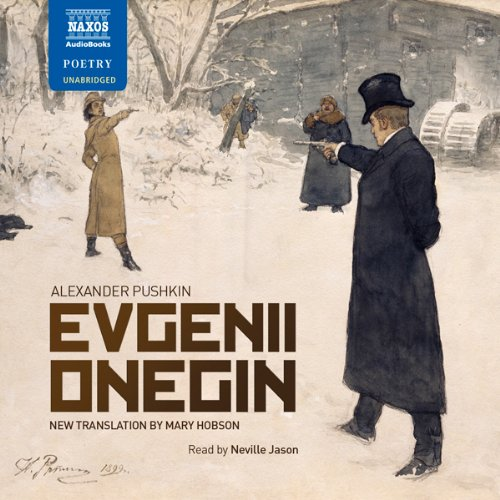 Evgenii Onegin Audiobook By Alexander Pushkin, Mary Hobson (translator) cover art
