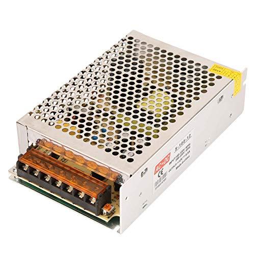 Convertisseur d'Alimentation à Découpage, Walfront AC110V-220V à DC12V 5A / 8.5A / 10A (en option) Moniteur de La Carte d'Alimentation CC(12V 8.5A 100W)