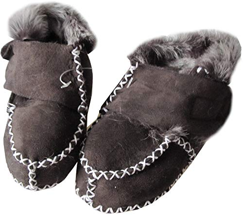 Wowerat Baby Lammfell Schuhe Größe 21-22