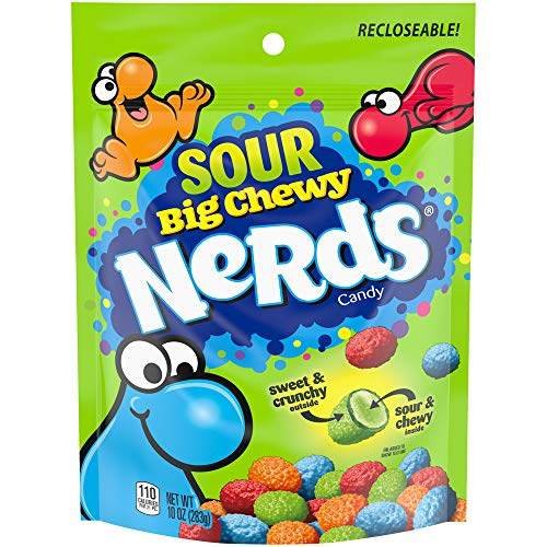 Nerds Sour Big Chewy Candy, 10 Ounce, Pack of 1