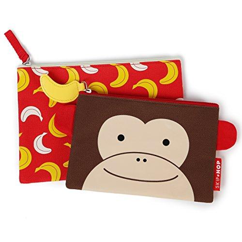 Skip Hop 252.651 Zoo caja de lápiz de Mono Set-