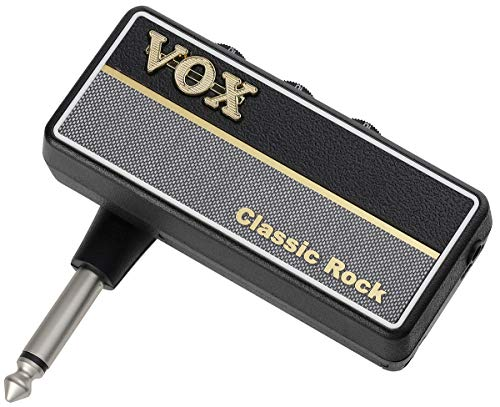 VOX amPlug2 AP2-MT Gitarren-Kopfhörer klassischer Rock, Schwarz/Grau