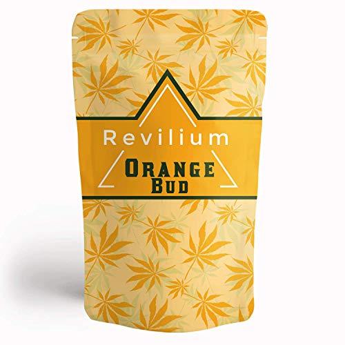 Revilium®   Aromatee   Ur-Kräutern   ohne zugesetzte Aromen   Made in Austria (Orange Bud)