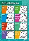 Circle Theorems | Mathematik-Diagramme | Glanzpapier misst