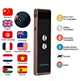 Smart Translator Device, Voice Language Translator, Portable Smart Two-Way Real Time Multi-Language Voice