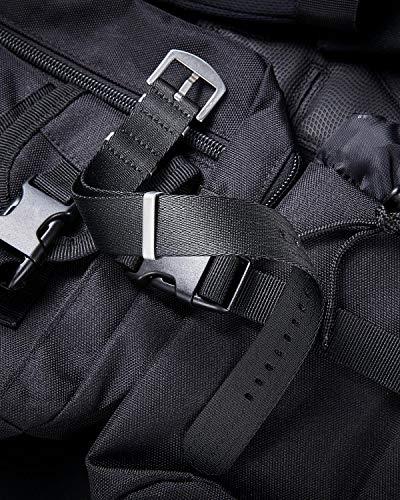 BINLUN Nylon Watch Band Multicolor Replacement Watch Straps for Men Women