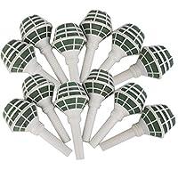 Haude 12ピース 花泡オアシスブーケ花束ホルダーウェディングブライダルフラワーDIY用