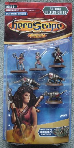 Heroscape Expansion Set Special Collection 10 Thora's Vengeance - Warriors and Soulborgs