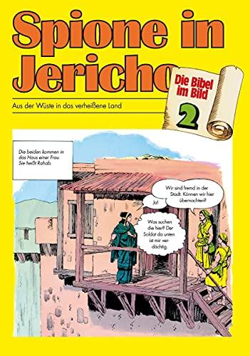 Die Bibel im Bild Heft 2: Spione in Jericho (Die Bibel im Bild / Biblische Geschichten im Abenteuercomic-Stil)
