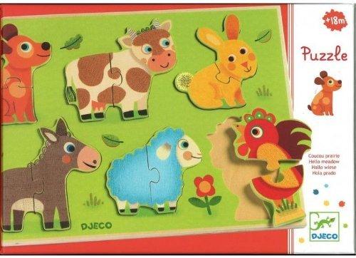 RompecabezasPuzzles encajables y rompecabezasEncajable Coucou Prado, Multicolor (15)