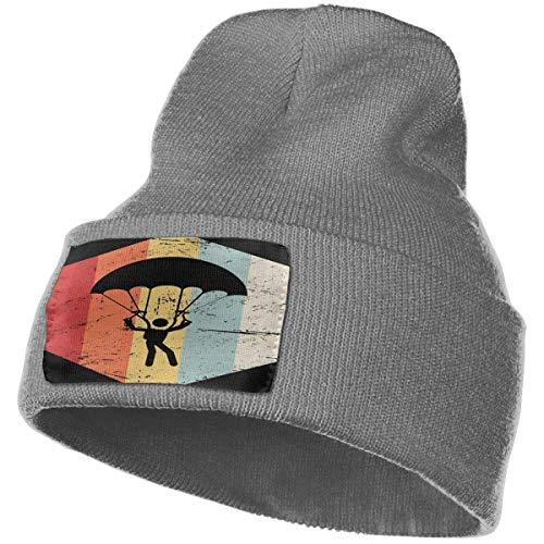 AEMAPE Unisex Beanie Hat Retro 70s Skydiving Knit Hat Cap Skull Cap