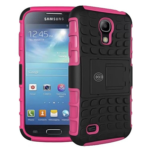 Cases for The Galaxy S4, Galaxy S4 Case, Samsung Galaxy s4 Armor Cases [Heavy Duty] Tough Armorbox Dual Layer Hybrid Hard/Soft Protective Cover by Cable and Case [S4 Phone Cases] - (Pink)