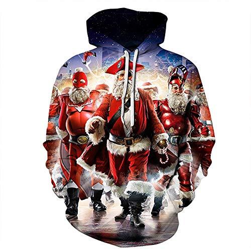 XINGMU 3D Gedrukt Sweatshirt Hoodie En Sweatshirt Kerstmis Stijl Rol Spelen Pocket Lange Mouwen Outfit Pullover