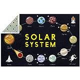 Funny Solar System Planet - Alfombras de área grande para sala...