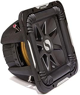 Kicker S10L7 Car Audio Solobaric L7 Square 10