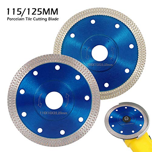 GFHDGTH 115mm Wave Stijl Diamantzaagblad Voor Porselein Tegel Keramisch Droog Snijden Agressieve Schijf Marmeren Graniet Steenzaagblad