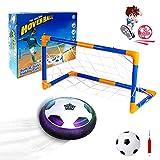 VCOSTORE Air Hover Ball Soccer Juguete Balón de Fútbol fútbol suspendido Recargable con Luces LED para niños Familia Juego Interior y Exterior