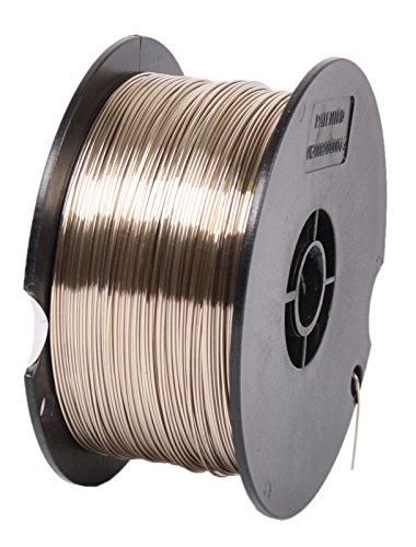 WELDINGER MAG-Universalschweißdraht SG2 TI für KFZ verkupfert 0,6 mm (1 kg 100er Drahtrolle Kleinrolle)