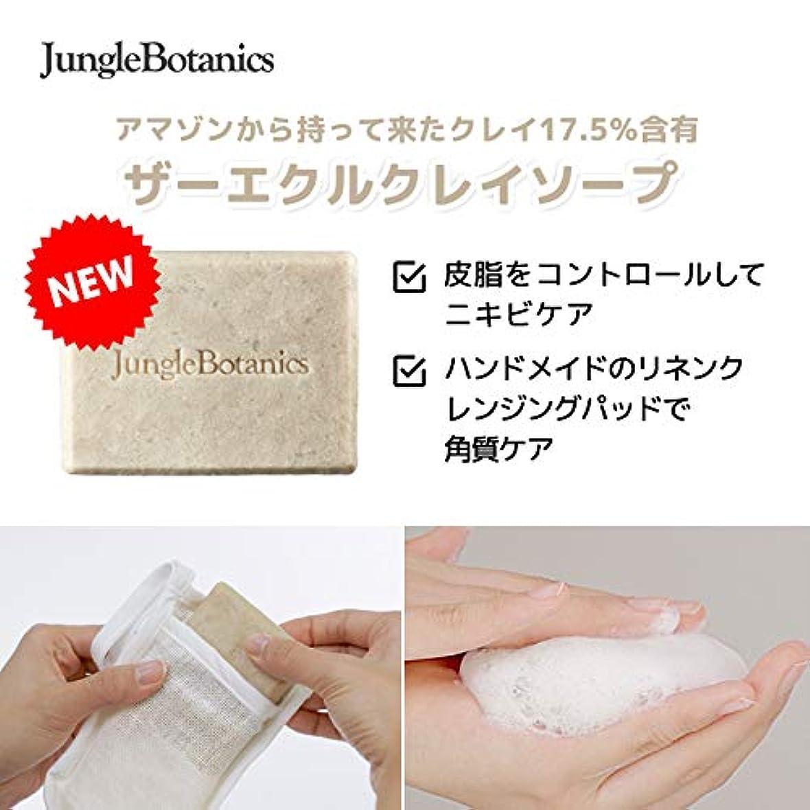 符号読書をする報いる[JUNGLE BOTANICS] ザーエクルクレイソープ110g, [JUNGLE BOTANICS] The Ecru Clay Soap 110g [並行輸入品] …