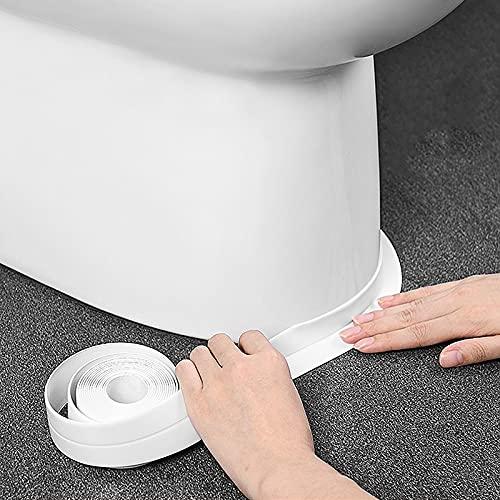 PMSMT wasserdichte PVC-Wandaufkleber Selbstklebende Spüle Herd Rissstreifen Küche Bad Badewanne Ecke Dichtungsband wasserdicht wasserdichtes Wasser