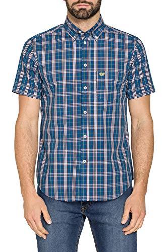 Carrera Jeans - Camicia per Uomo, Fantasia a Quadri, Tessuto Tinto Filo (EU XXL)