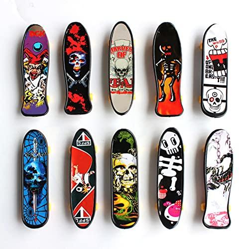 Finger Mini Skateboard 15 Piezas - Mini Monopatines De Dedos, Patinetas Dedos Coleccionables Para Amantes Del Patinaje De 6 Años En Adelante, Juguetes De Plástico Para Montar Patines - Color Aleatorio