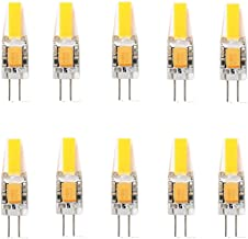 Led Bulbs, 10x G4 LED Bulb 3W 12V G4 LED Capsule G4 LED SMD 1505 Downlight Bulb G4 LED 200-250LM with New Technology led l...