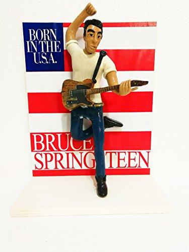 ESCULTURAS - ACTION FIGURES DE BRUCE SPRINGSTEEN con la portada del álbum Born in the U.S.A.